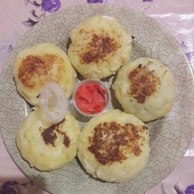 Картофельные зразы с куриным фаршем - рецепт с фото