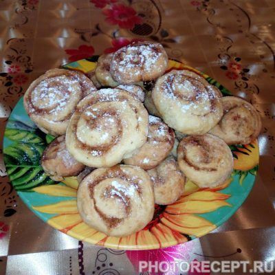 Фото рецепта - Ароматные булочки с корицей - шаг 7