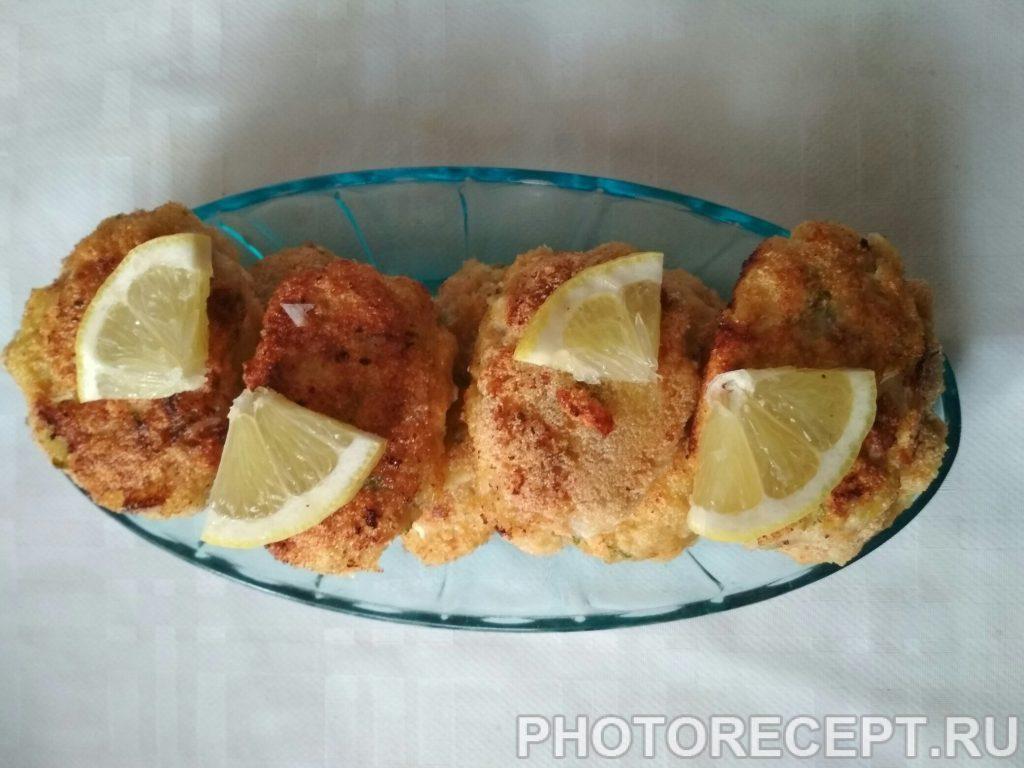 Фото рецепта - Котлеты из рыбы - шаг 8