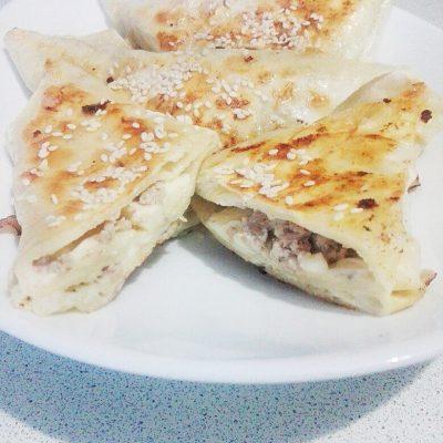 Самса из лаваша - рецепт с фото