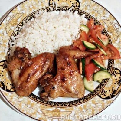 Пикантные куриные крылышки - рецепт с фото