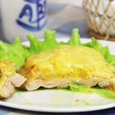Свиная отбивная с апельсином, в духовке - рецепт с фото