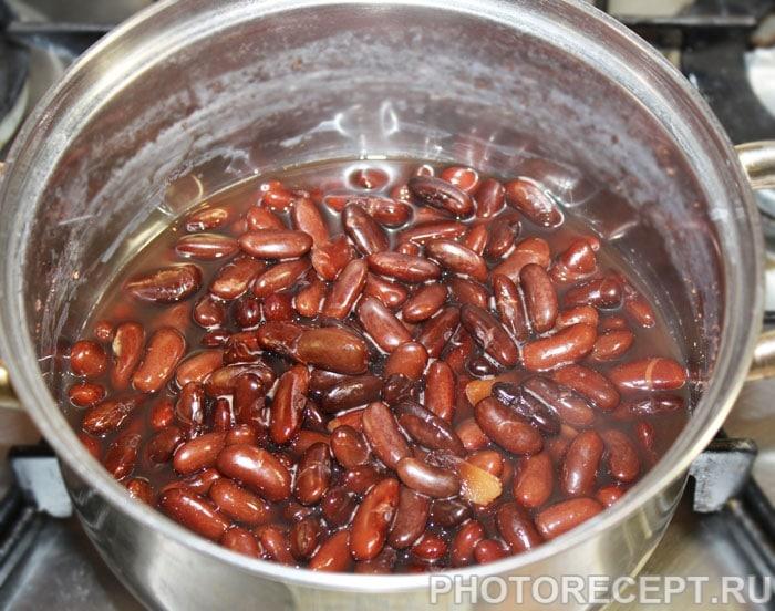 Фото рецепта - Овощной суп из кабачков и фасоли - шаг 1