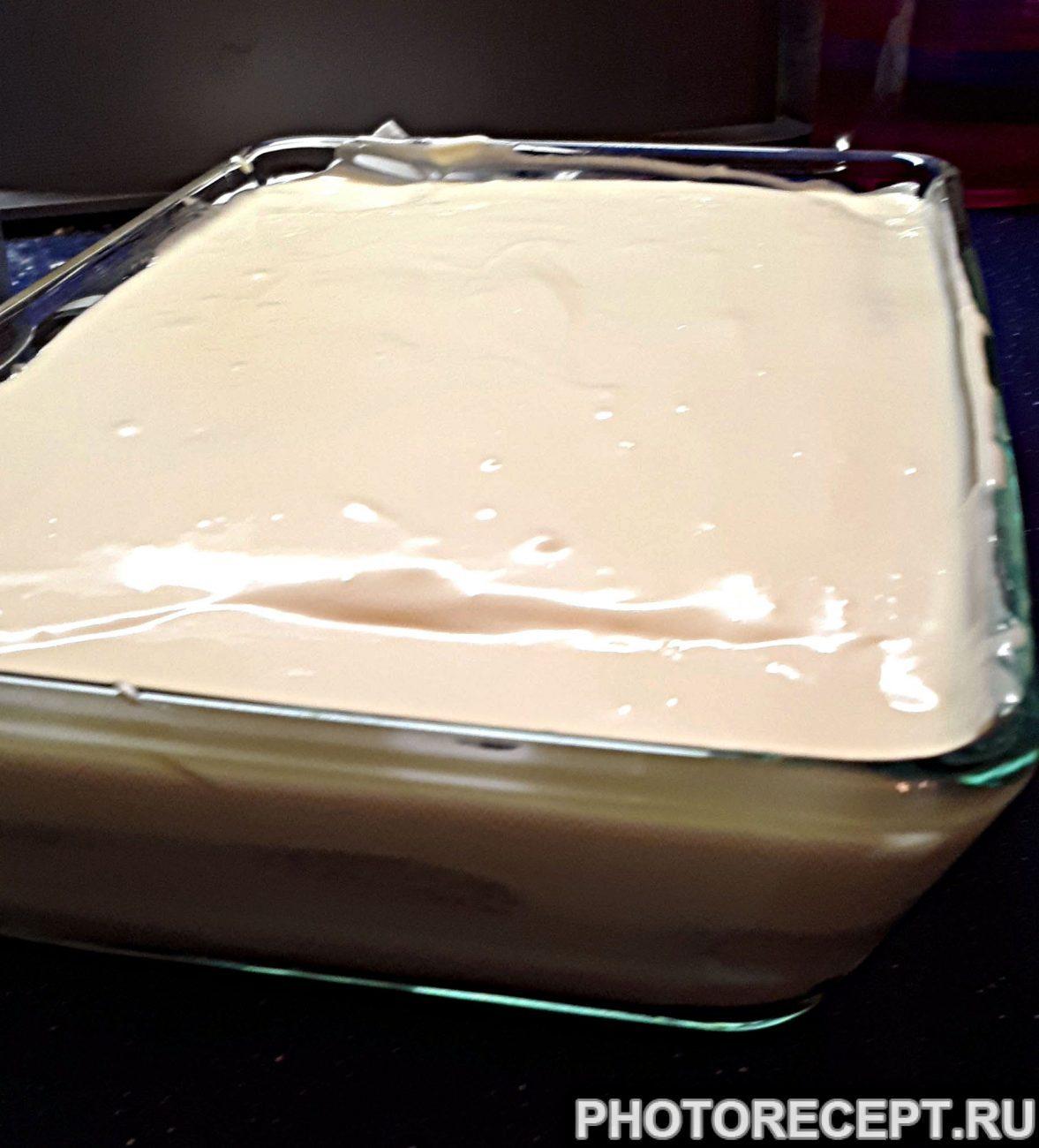 Тирамису – десерт с печеньем