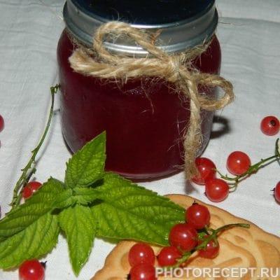 Желе из красной смородины на зиму - рецепт с фото