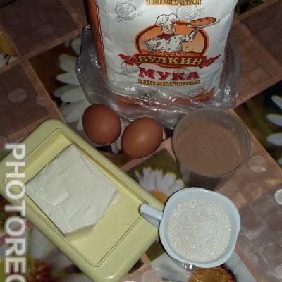 Фото рецепта - Брауни на скорую руку - шаг 1