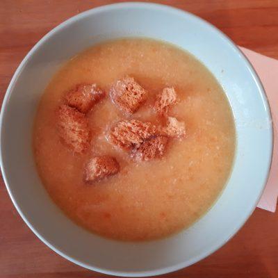 Картофельный суп-пюре с сыром - рецепт с фото