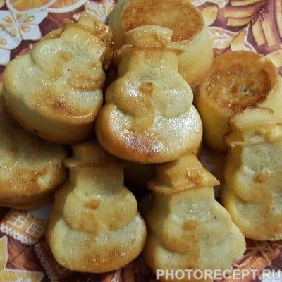 Фото рецепта - Бисквитные кексы с начинкой, для малышей - шаг 5
