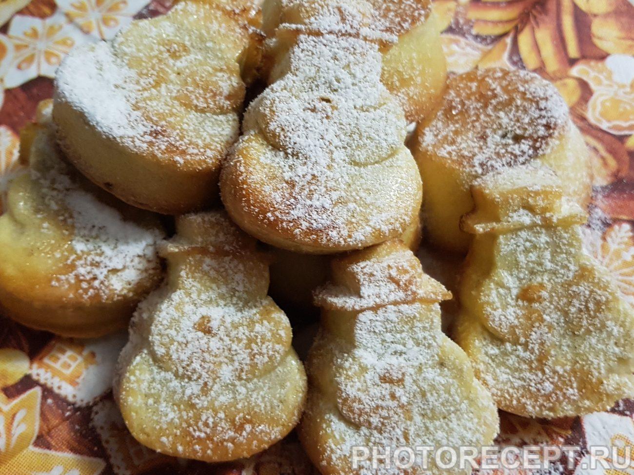 Бисквитные кексы с начинкой, для малышей