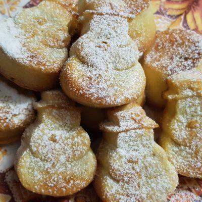 Бисквитные кексы с начинкой, для малышей - рецепт с фото