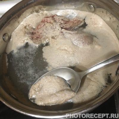 Фото рецепта - Сметанно-овощной суп с говядиной - шаг 2
