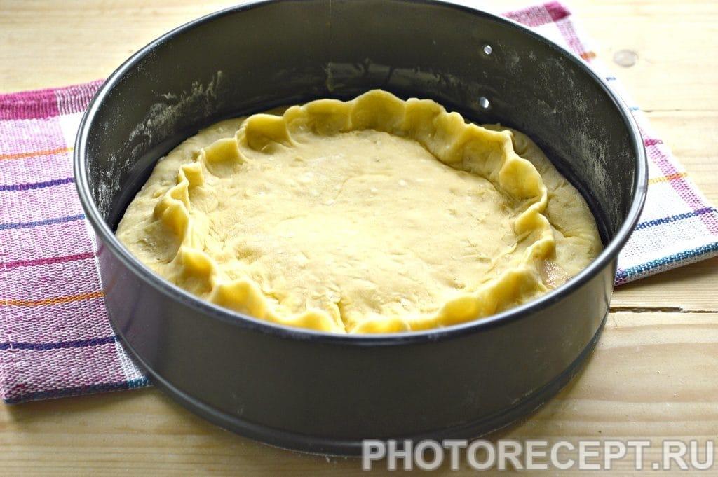 Фото рецепта - Творожный пирог с вареньем - шаг 5