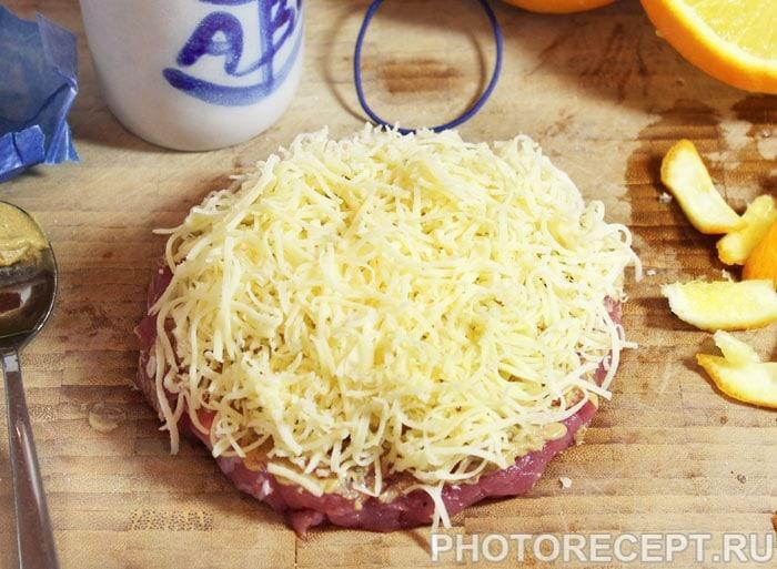 Фото рецепта - Свиная отбивная с апельсином, в духовке - шаг 5