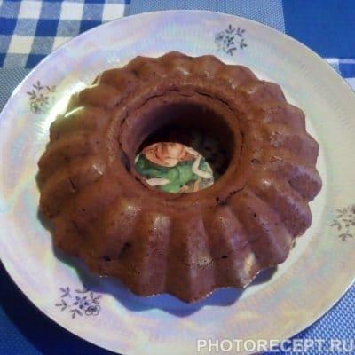 """Фото рецепта - Воздушный торт """"Шоколадное кольцо"""" - шаг 4"""