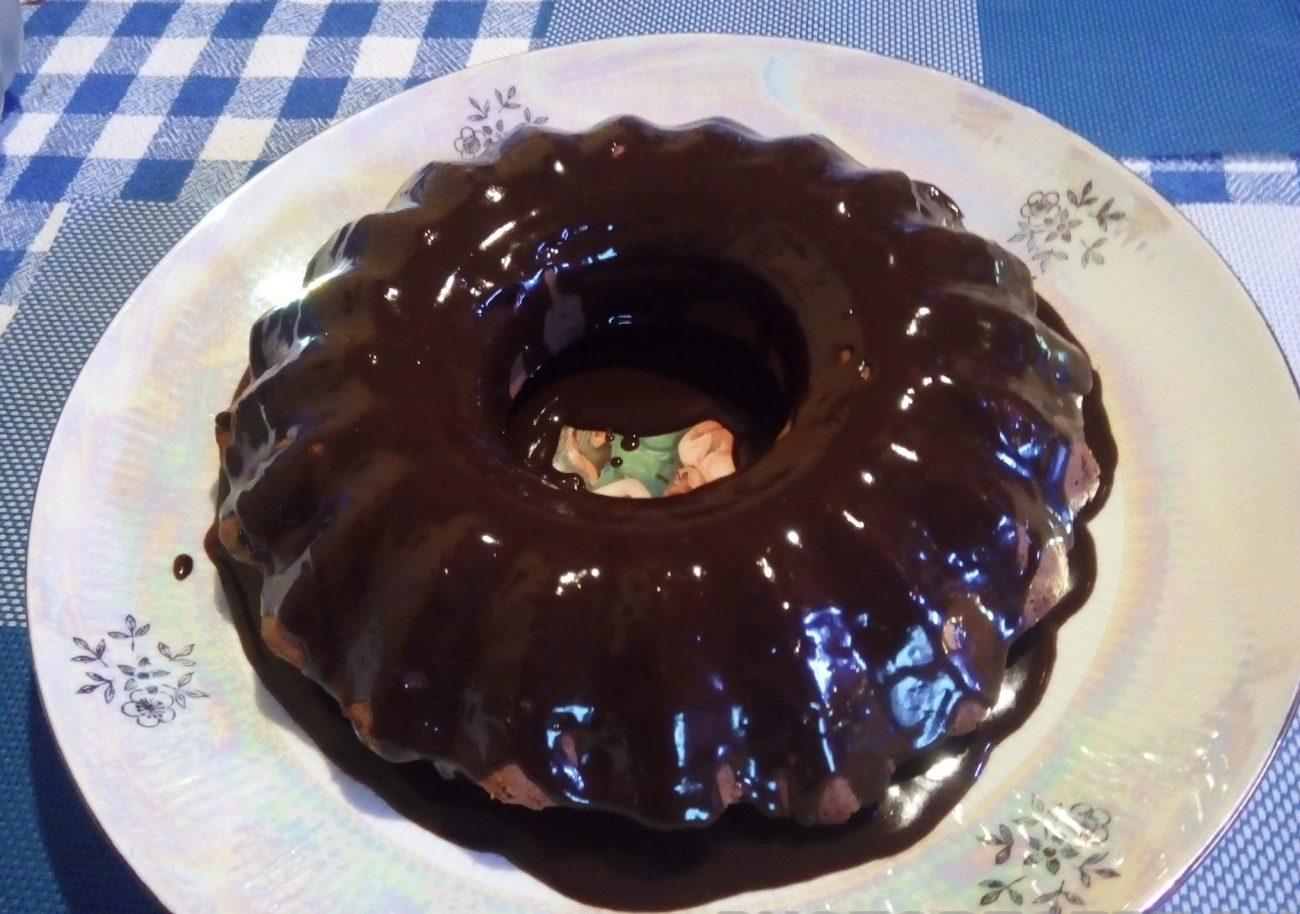 """Воздушный торт """"Шоколадное кольцо"""""""