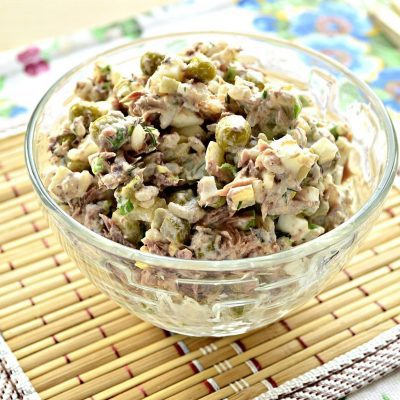 Салат с консервированным тунцом и рисом - рецепт с фото