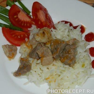 Быстрая мясная подлива - рецепт с фото