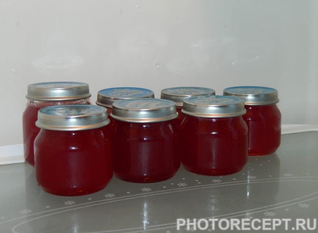 Фото рецепта - Желе из красной смородины на зиму - шаг 5