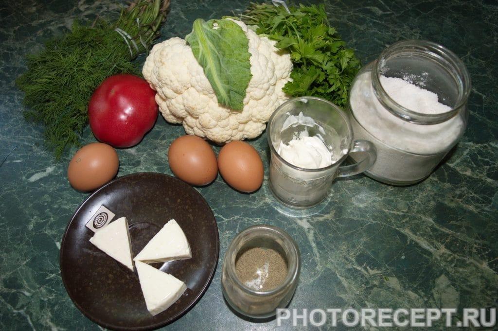 Фото рецепта - Запеканка из цветной капусты - шаг 1
