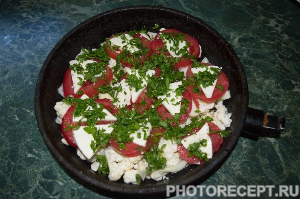 Фото рецепта - Запеканка из цветной капусты - шаг 5