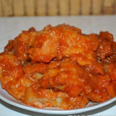 Тушеная рыба в томатном соусе (как консервы) - рецепт с фото