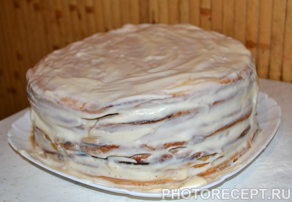 Фото рецепта - Торт «Рафаэлло»  из творожного теста - шаг 7