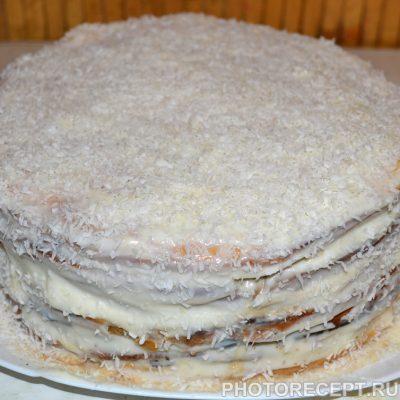 Фото рецепта - Торт «Рафаэлло» из творожного теста - шаг 8