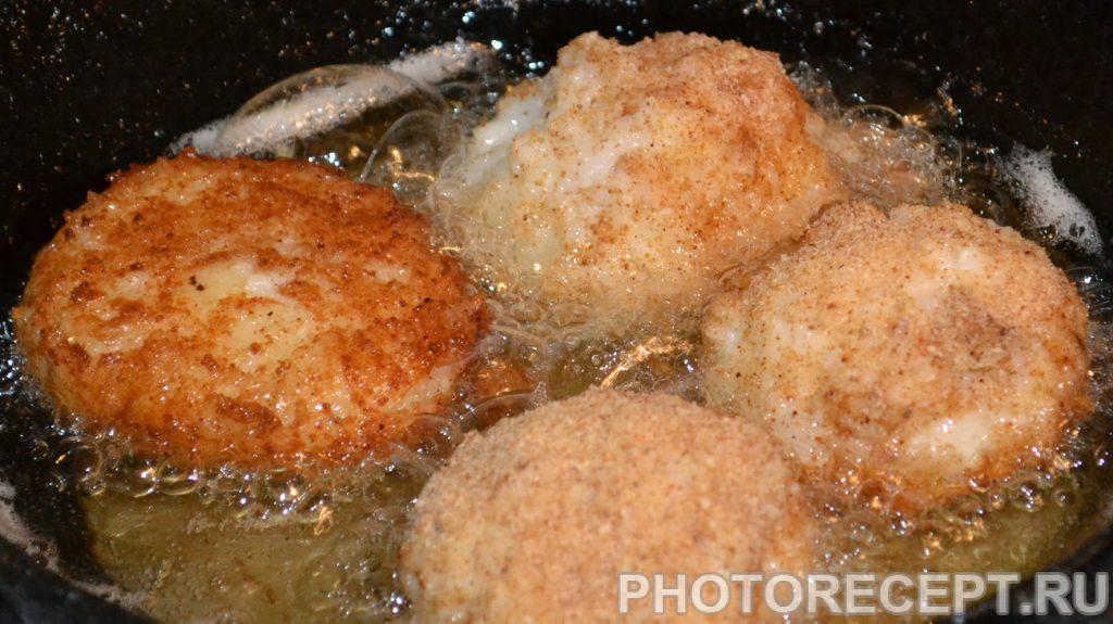 Фото рецепта - Рисовые шарики с курицей и грибами в соусе Терияки - шаг 7