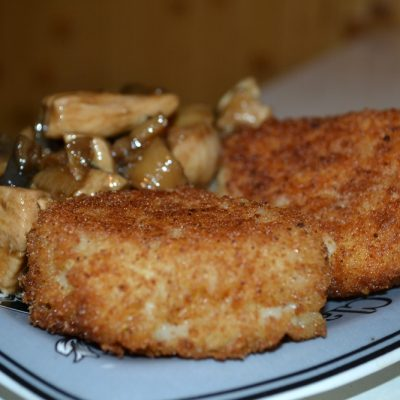 Рисовые шарики с курицей и грибами в соусе Терияки - рецепт с фото