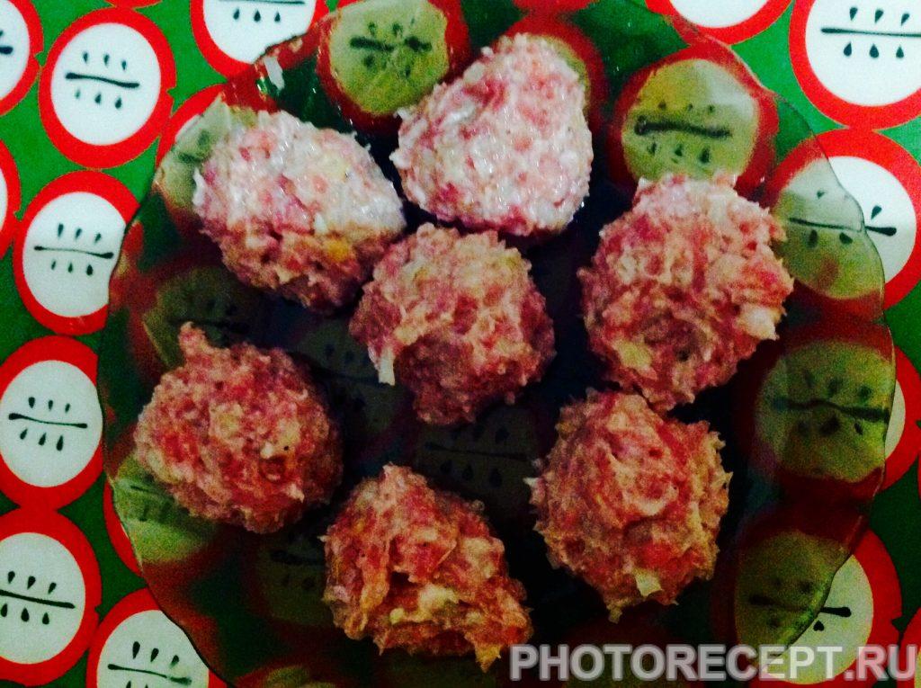Фото рецепта - Тефтели в томатном рагу - шаг 2