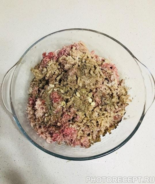 Фото рецепта - Перец фаршированный фаршем и рисом - шаг 2