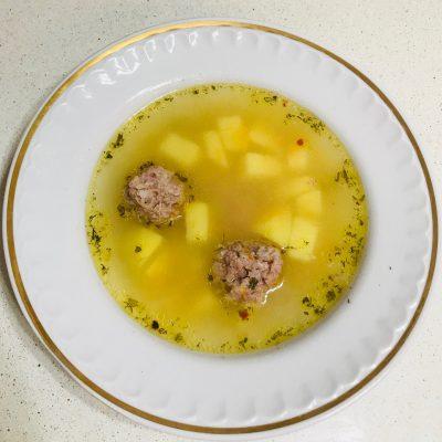 Суп-лапша с фрикадельками - рецепт с фото