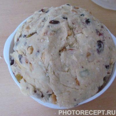 Фото рецепта - Рождественский кекс штолен из песочного теста - шаг 7