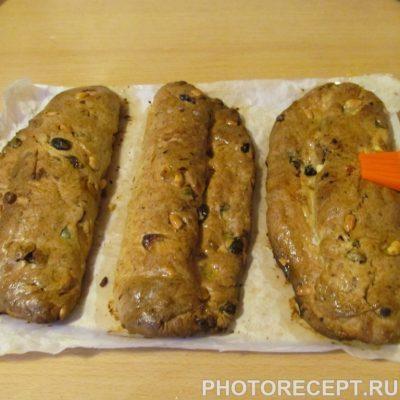 Фото рецепта - Рождественский кекс штолен из песочного теста - шаг 11