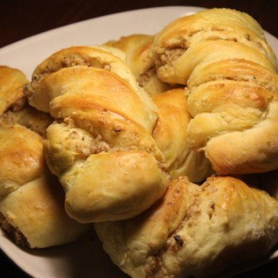 Ореховые булочки - рецепт с фото
