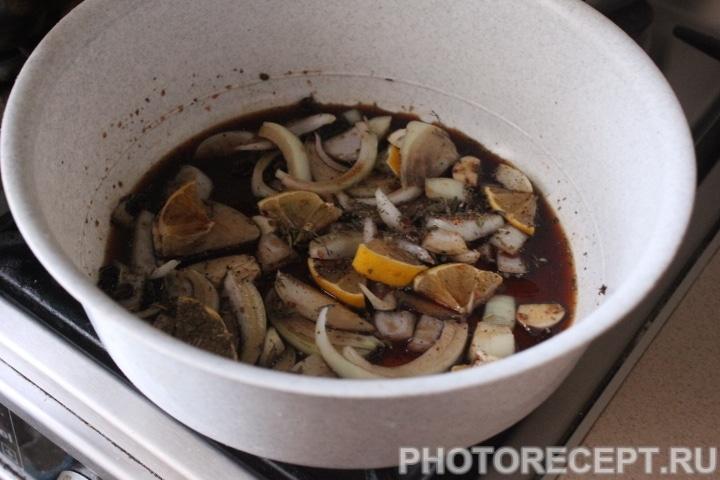 Фото рецепта - Жаркое из свиных ребрышек в духовке - шаг 6