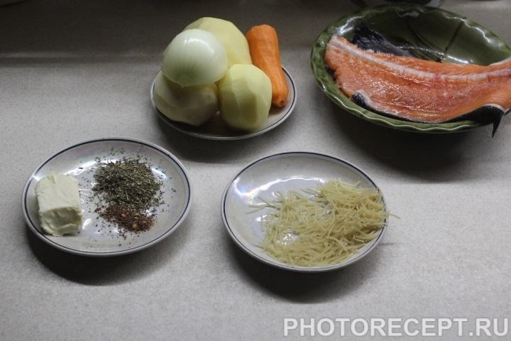 Фото рецепта - Пряный рыбный суп - шаг 1