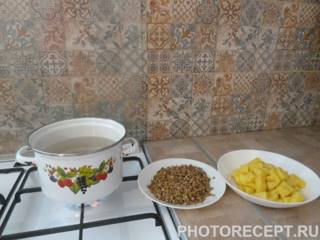 Фото рецепта - Суп из чечевицы - шаг 2