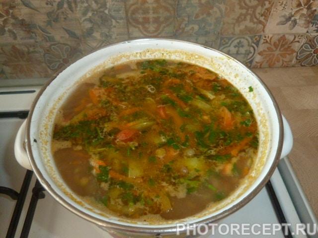Фото рецепта - Суп из чечевицы - шаг 5