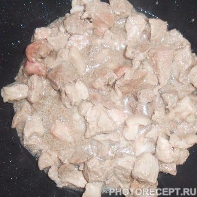 Фото рецепта - Тушеная картошка с мясом - шаг 6