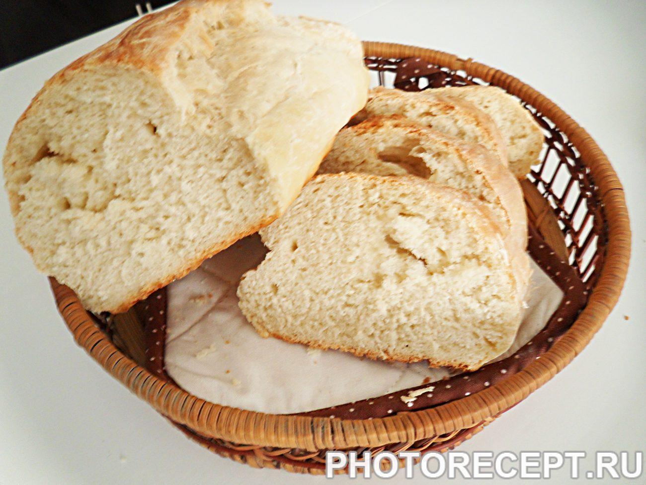 Хлеб из белой муки