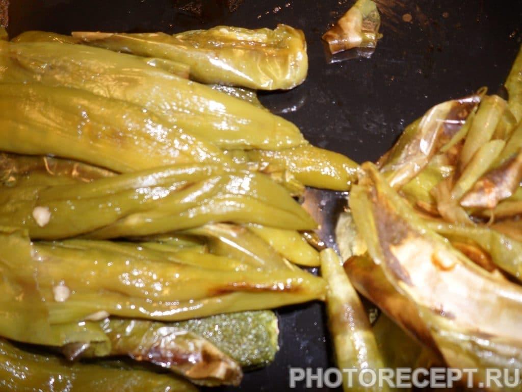 Фото рецепта - Запеченный перец на зиму - шаг 2
