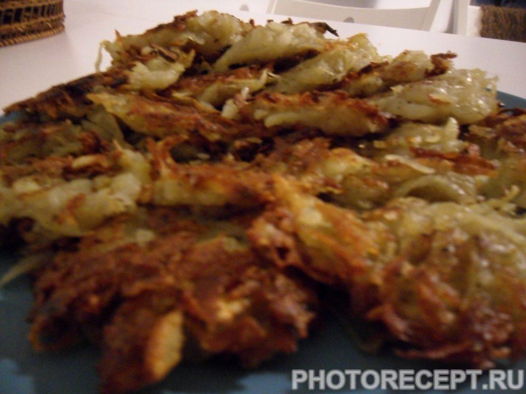 Фото рецепта - Драники (картофельные оладьи) без муки - шаг 5