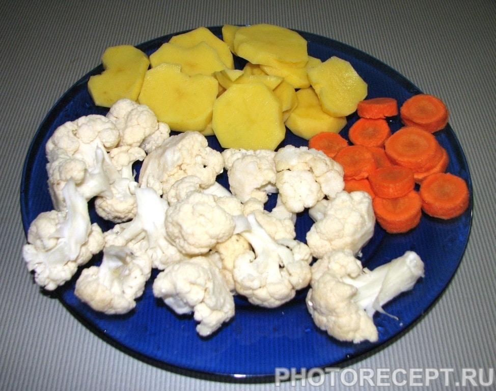 Фото рецепта - Пакоры (овощи в кляре) - шаг 1