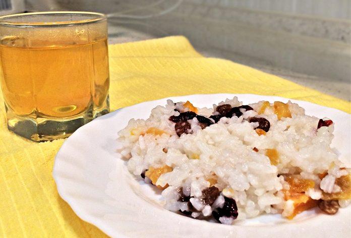 Кутья из риса к Сочельнику