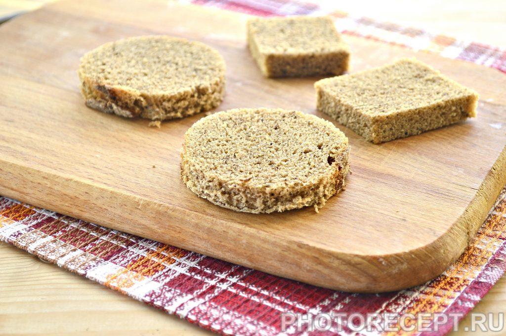 Фото рецепта - Закусочные бутерброды со свеклой и селедкой - шаг 1