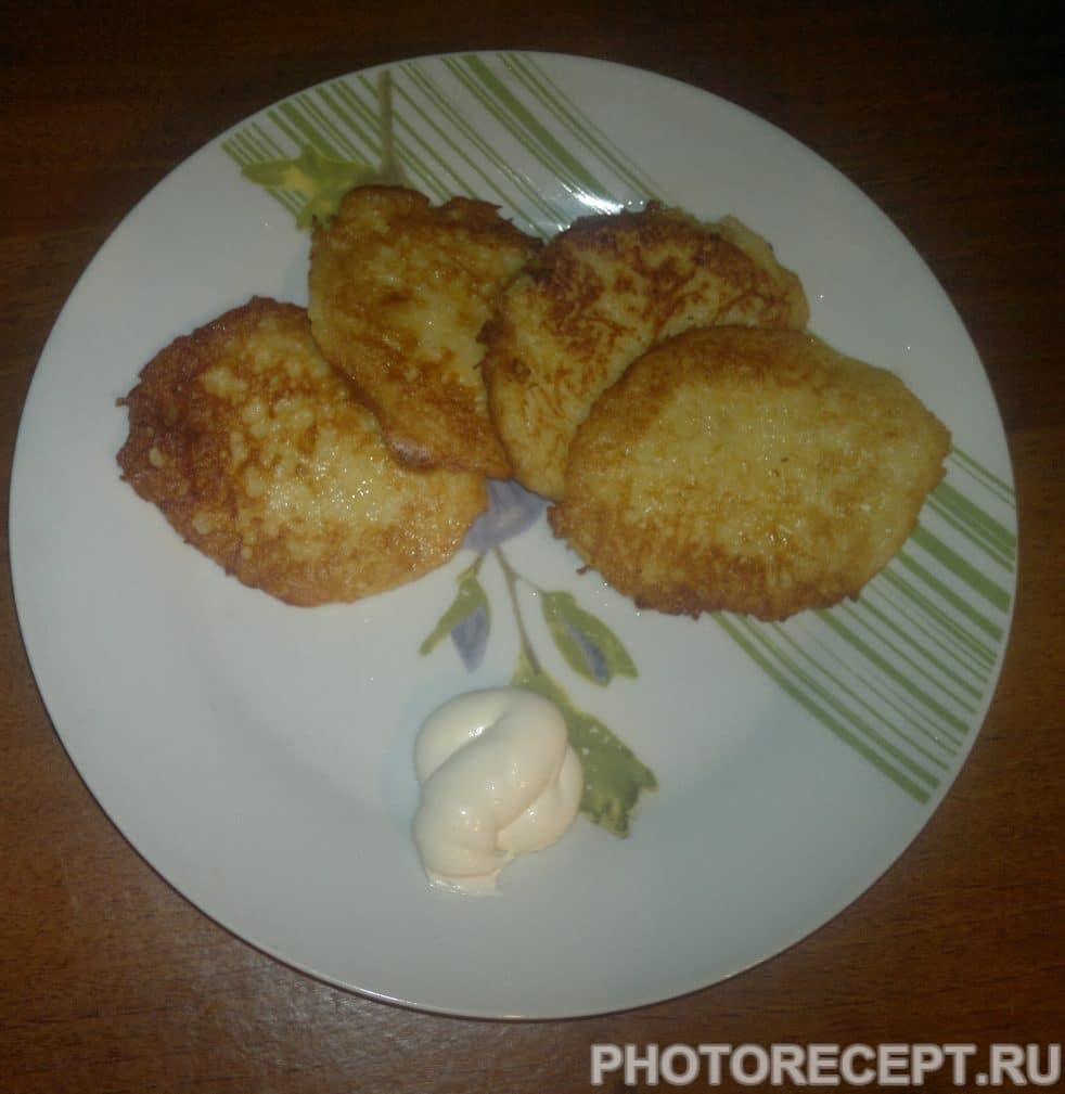 Фото рецепта - Драники картофельные классические - шаг 6