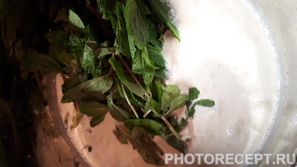 Фото рецепта - Мятное мороженое - шаг 2