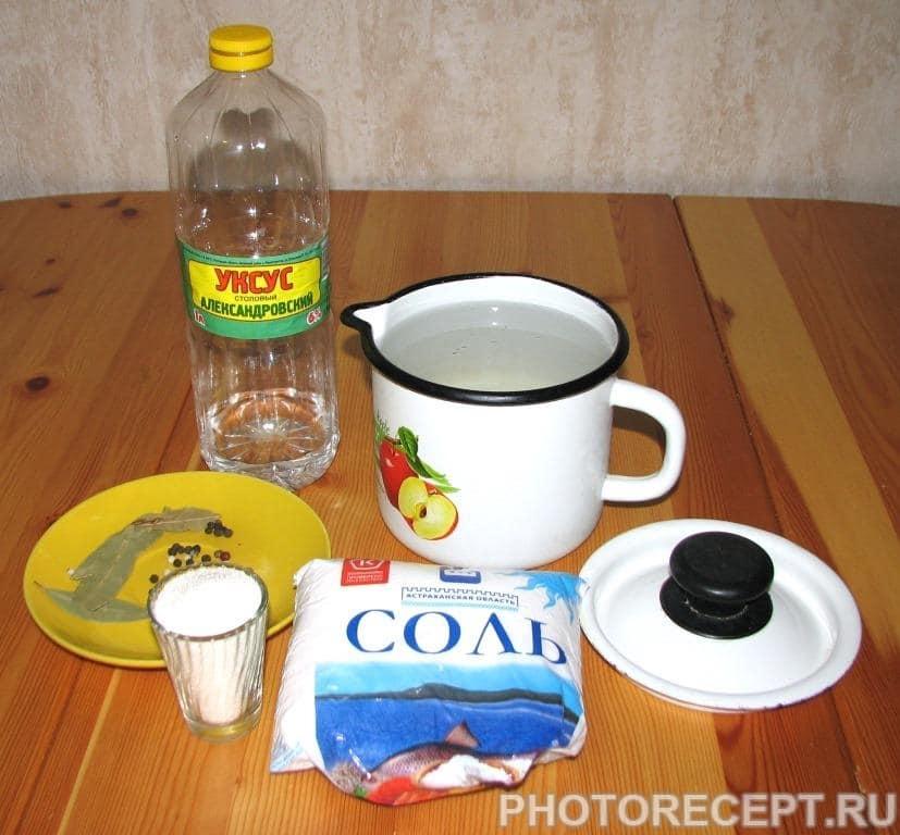 Фото рецепта - Капуста цветная маринованная - шаг 3