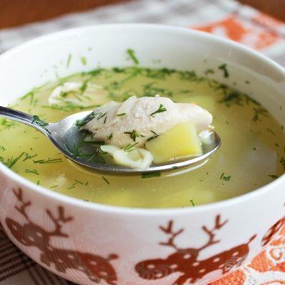 Куриный суп с пастой (лапшой) - рецепт с фото